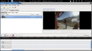 openshot vidéo éditor